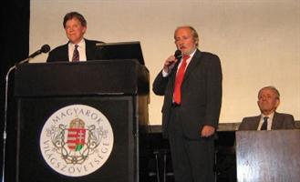 Duke spoke at Magyarok Világszövetsége in 2006