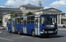 The Ikarus 280 model still runs in Budapest.
