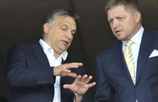 Viktor Orbán and Slovak Prime Minister Robert Fico. Photo: aktuality.sk