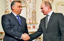 Viktor Orbán and Vladimir Putin.