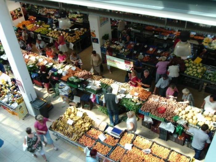 Debrecen Market Hall - view from the second floor.