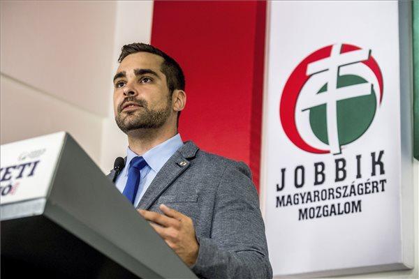 Tamás Pintér (Jobbik). Photo: MTI/Zoltán Balogh