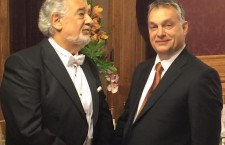 Placido Domingo and Viktor Orbán.