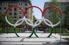 Olympic Park in Budapest.