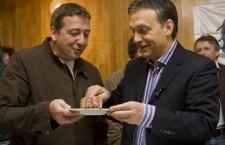 Zsolt Bayer and Viktor Orbán.