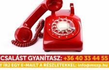 Anti-electoral fraud hotline.
