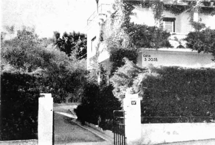 Horthy's house in Estoril.