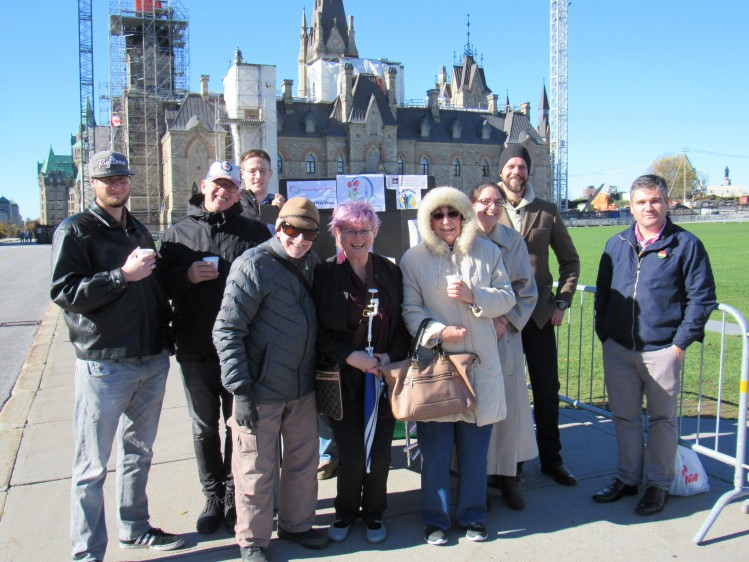 The Hungarian Forum of Ottawa commemorates the sixtieth anniversary of the 1956 Hungarian Revolution on Parliament Hill in Ottawa.