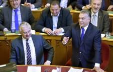 Viktor Orbán in Parliament on October 3rd.