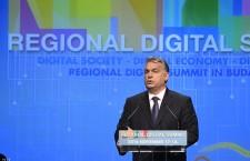 Viktor Orbán on November 17th. Photo: MTI.