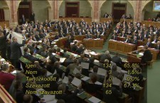 The Tuesday vote in Parliament on the proposed constitutional amendment.