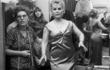 1968 - Zsa Zsa in Budapest at Klára Rotschild's Salon.