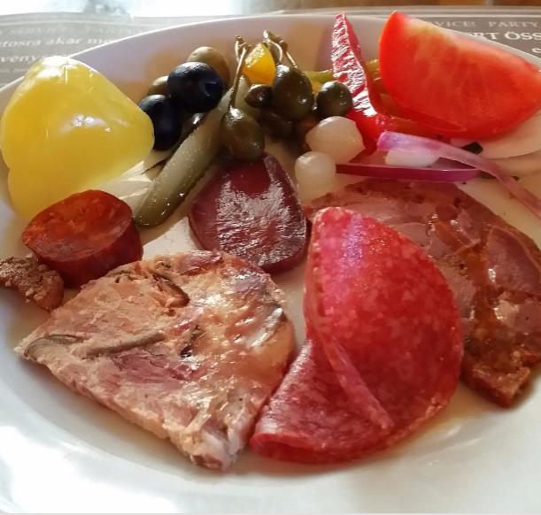 An appetiser at Trófea Grill. Photo: Tripadvisor.