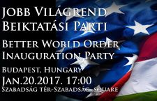 Inauguration party in Budapest