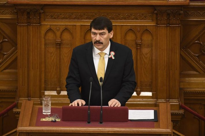Image result for President Janos Ader