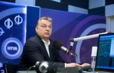 Viktor Orbán speaking to Kossuth Radio on Easter Sunday. Photo: MTI.