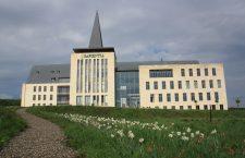 Sapientia's campus in Marosvásárhely.