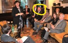 J.D. Gordon is a frequent guest at the Hungarian Embassy in Washington DC