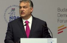 Viktor Orbán at the World Congress of Families in Budapest