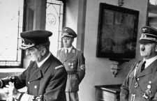 Horthy (left) Hitler (right) were close allies