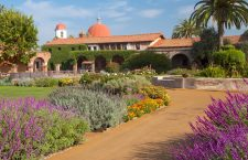 Mission San Juan Capistrano in California.