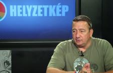 Zsolt Bayer speaking to Miskolc TV