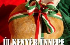 The celebration of new bread in Hungary...