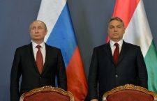 Vladimir Putin and Viktor Orbán