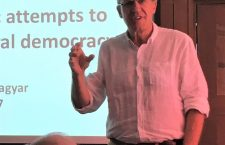 Mr. Bálint Magyar gave a presentation at the University of California at Berkeley