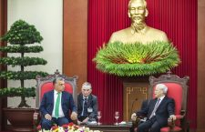 Prime Minister Viktor Orbán and Vietnam Communist Party General Secretary Nguyen Phu Trong. Photo: MTI.