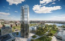 The proposed MOL Tower.