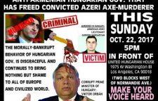 Armenian community protest in California,