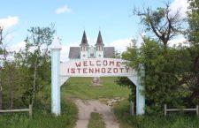 The remains of the Békevár Hungarian settlement (Saskatchewan)
