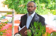 Rabbi Gábor Fináli. Photo: Szabolcs Oláh. Gyulai Hírlap.