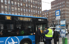 Public bus transfer from Budapest's city centre to Ferihegy Airport.