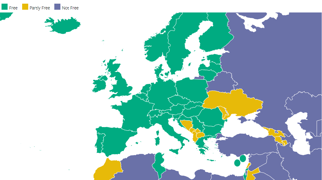 Freedom House Hungary Is The Least Democratic Country In The Eu