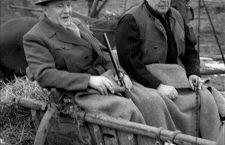 János Kádár hunting with Soviet leader Leonid Brezhnev in the seventies. Photo: MTI.