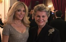 Marla Maples with Katalin Bogyai