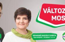 Márta Naszályi and Gergely Karácsony