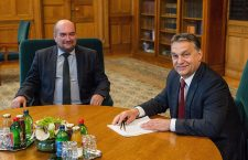 Mr. László Brenzovics and Prime Minister Viktor Orbán.