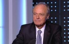 Péter Medgyessy in ATV's studios in 2017.