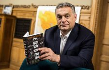 Viktor Orban reading The Strange Death of Europe by Douglas Murray