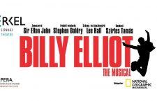 Budapest Opera's Billy Elliot poster.