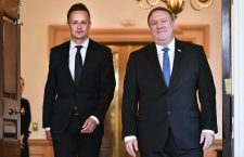 Secretary of State Mike Pompeo warns Hungary's Foreign Minister Peter Szijjártó