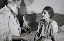 Brancusi with Margit Pogány