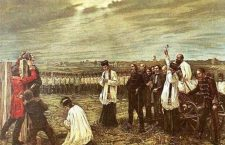 Execution of the Martyrs of Arad – painting by János Thorma.