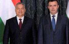 Hungary's Prime Minister Viktor Orbán (left) and Minister of Innovation and Technology László Palkovics.