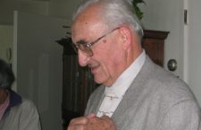 Fr. Deák (1925-2019). I took this photo at Our Lady of Hungary Parish, circa 2006.