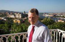 Kurt Volker in Budapest in 2019. Source: Válasz Online.
