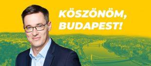 Gergely Karácsony, Mayor-elect of Budapest.